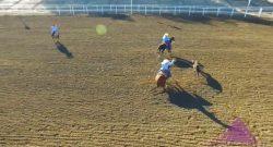 World Equestrian Brands Drone Cam: Calf Roping