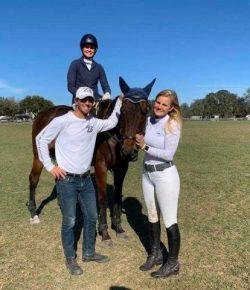 Standing Ovation by Ovation Riding: Audrie Stanka and Zach Brandt
