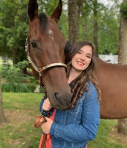 Thoroughbred Incentive Program April Youth Ambassador