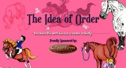 The Idea of Order: Non-Equestrians…