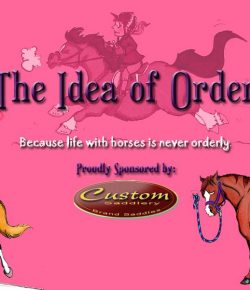 The Idea of Order: Non-Equestrians…