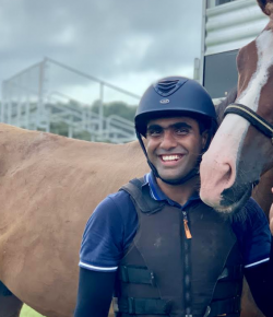 Muhammad Shahroze Rehman: 'Why Don't You Come Sit With the Eventing Team?'