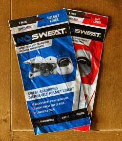Product Review: NoSweat Helmet Liners