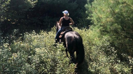 Hitting the Trails: Flying W Ranch, Kellettville, PA