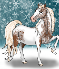 A Day in the Life of a Pony Named Pony: Snow Day…