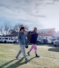 Thursday Video: Horse Girl Street Fashion