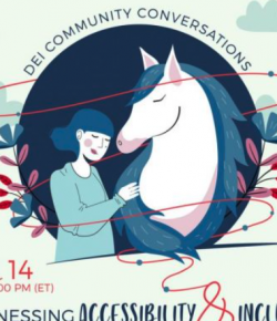Next Up in US Equestrian's DEI Community Conversations Series: Accessibility and Inclusion of Persons with Disabilities