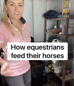 Thursday Video: How Equestrians Feed Their Horses
