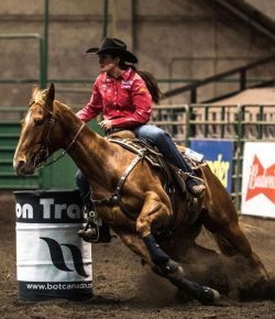 Barrel Racer & Working Cow Horse Get the Gift of Better Breathing