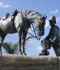 Memorial Day: Horses of War