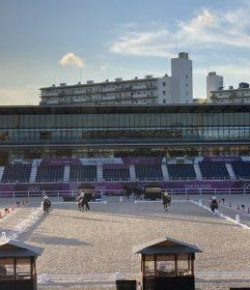 Sneak a Peek Inside the Gorgeous Equestrian Park at the Tokyo Olympics