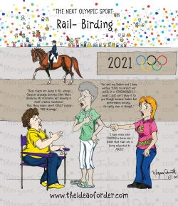 The Idea of Order: Olympic Rail-Birding