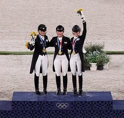 Today in Tokyo: Germany Takes Gold, U.S. Earns Silver in Dressage Team Competition
