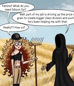 Gibson and the Apocalypse: A Quart of Wheat for a Denarius
