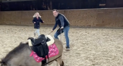 'Oh Crap' Monday: Pony Does What Pony Wants