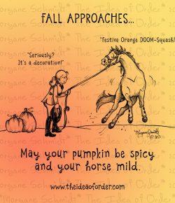 The Idea of Order: It's Spooky Season…